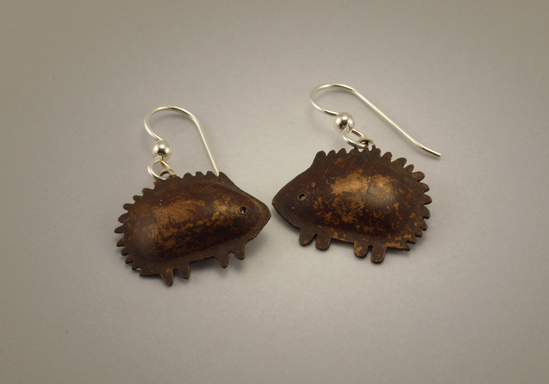 Hedgehog Earrings