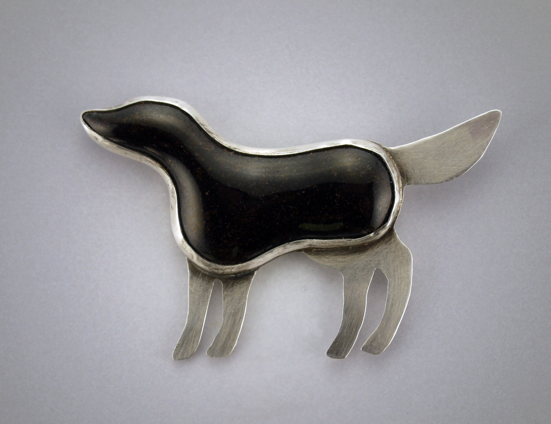 Black Lab Pin